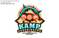 KAMPcoordinator : Kids' Adventure Mapping Program   Logo - Entry #24