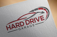 Hard drive garage Logo - Entry #103