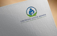 Growing Little Minds Early Learning Center or Growing Little Minds Logo - Entry #100