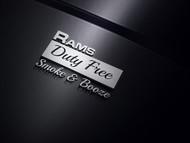 Rams Duty Free + Smoke & Booze Logo - Entry #86