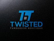 Twisted Turquoise Boutique Logo - Entry #144