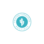Twisted Turquoise Boutique Logo - Entry #32