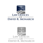 Law Offices of David R. Monarch Logo - Entry #70