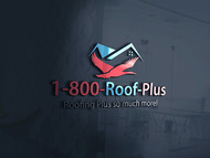 1-800-Roof-Plus Logo - Entry #83