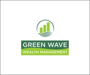 Green Wave Wealth Management Logo - Entry #340