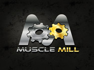 Muscle MIll Logo - Entry #11