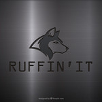 Ruffin'It Logo - Entry #87