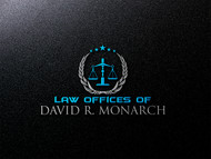 Law Offices of David R. Monarch Logo - Entry #257