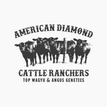 American Diamond Cattle Ranchers Logo - Entry #66