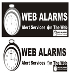 Logo for WebAlarms - Alert services on the web - Entry #41