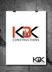 KBK constructions Logo - Entry #27