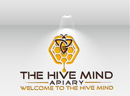 The Hive Mind Apiary Logo - Entry #61