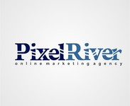 Pixel River Logo - Online Marketing Agency - Entry #57