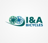 i & a Bicycles Logo - Entry #58