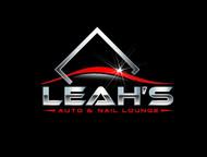 Leah's auto & nail lounge Logo - Entry #176