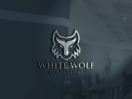 White Wolf Consulting (optional LLC) Logo - Entry #127