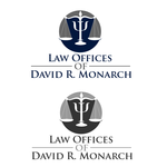 Law Offices of David R. Monarch Logo - Entry #72