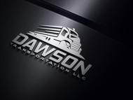 Dawson Transportation LLC. Logo - Entry #92