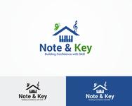 Note & Key Logo - Entry #56