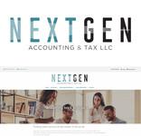NextGen Accounting & Tax LLC Logo - Entry #506