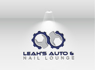 Leah's auto & nail lounge Logo - Entry #143