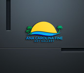 Ana Carolina Fine Art Gallery Logo - Entry #77