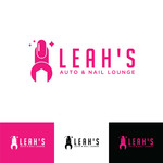 Leah's auto & nail lounge Logo - Entry #39