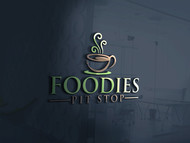 Foodies Pit Stop Logo - Entry #75