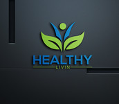 Healthy Livin Logo - Entry #572