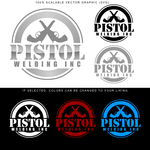 PISTOL WELDING INC. Logo - Entry #77