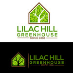 Lilac Hill Greenhouse Logo - Entry #81
