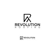 Revolution Roofing Logo - Entry #245