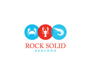 Rock Solid Seafood Logo - Entry #189