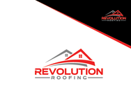 Revolution Roofing Logo - Entry #141