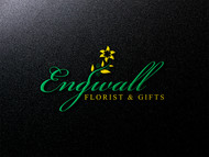 Engwall Florist & Gifts Logo - Entry #172
