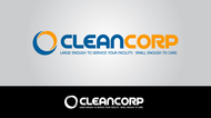 B2B Cleaning Janitorial services Logo - Entry #107