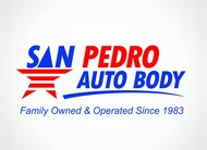 San Pedro Auto Body Logo - Entry #65