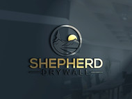 Shepherd Drywall Logo - Entry #114