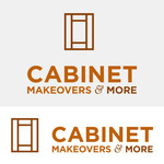 Cabinet Makeovers & More Logo - Entry #196