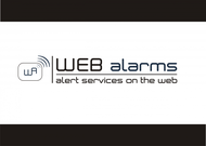 Logo for WebAlarms - Alert services on the web - Entry #189