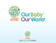 Logo for our Baby product store - Our Baby Our World - Entry #73