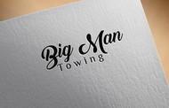 Big Man Towing Logo - Entry #71