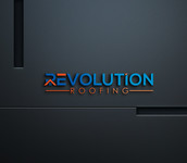Revolution Roofing Logo - Entry #113