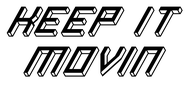 Keep It Movin Logo - Entry #96