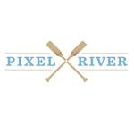 Pixel River Logo - Online Marketing Agency - Entry #197