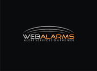 Logo for WebAlarms - Alert services on the web - Entry #181