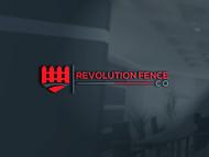 Revolution Fence Co. Logo - Entry #287