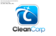 B2B Cleaning Janitorial services Logo - Entry #48