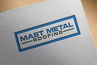Mast Metal Roofing Logo - Entry #70