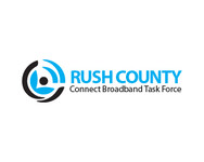 Rush County Connect Broadband Task Force Logo - Entry #36